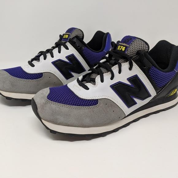 New Balance 574 Classic Shoes Purple